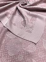 Женский светло-розовый платок с люрексом Турция - купить на Kosinka.net