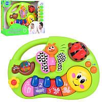 Детская музыкальная игрушка пианино для самых маленьких, 18-13-5 см.