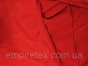 Трехнитка без начеса (петля) Красная