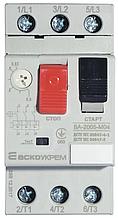 Автоматичний вимикач захисту двигуна ВА-2005 М04 (0,40-0,63 А)