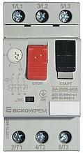Автоматический выключатель защиты двигателя ВА-2005 М08 (2,5-4,0А)