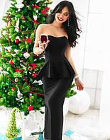 Элегантное платье-бюстье , 3 цвета