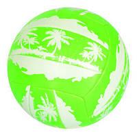 Мяч волейбольный Пляжный размер 5 зелёного EN 3296