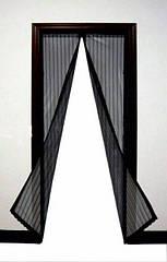 Антимоскитная сетка на магнитах Magic Mesh 200х100см, черная