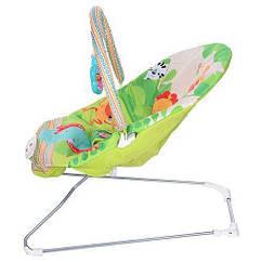 Кресло качалка шезлонг детский Bambi M 3498-1