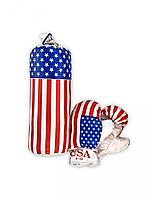 """Боксерский набор МАЛ """"Америка"""" 0001 S-USA"""
