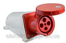 Розетка (гнездо) стационарная ГC 125А/4 3Р+РЕ (144)