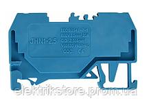 Клемник пружинный  JHN1-2,5 синий
