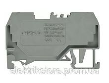 Клемник пружинный  JHN1-2,5 серый