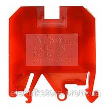 Клеммник JXB 10/35 красный