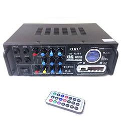 Усилитель звука Bluetooth UKC AV-325 BT