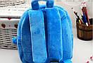 Детские дошкольные рюкзаки плюшевый 1-3 года для мальчиков Robocar Poli, фото 4