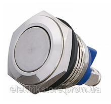 TY 16-211A Scr Кнопка металлическая плоская, (винтовое соединение), 1NO.