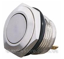 TY 16-211P Pcb Кнопка металлическая плоская, (соединение под пайку), 1NO.