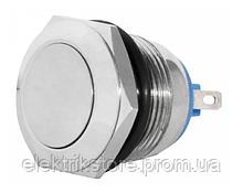 TY 19-211P Pcb Кнопка металлическая плоская, (соединение под пайку), 1NO.