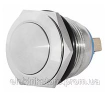 TY 19-231A Scr Кнопка металлическая выпуклая, (винтовое соединение), 1NO.