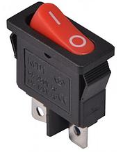 KCD1-12-101 R/B Перемикач 1 клав. (червона овальна клавіша)