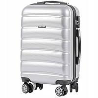 Дорожный чемодан PC160 silver размер S (ручная кладь), фото 1