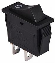 KCD3-101 B/B  Переключатель 1 клав. черный