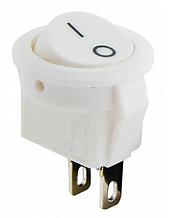 KCD5-2-101 WH / WH Перемикач 1 кл. круглий білий