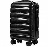 Дорожный чемодан PC160 черный размер S (ручная кладь), фото 1