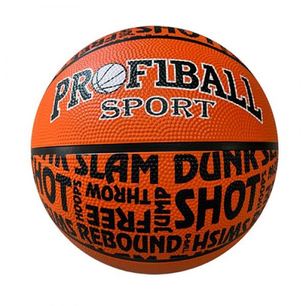 Мяч баскетбольный арт 0053 размер7, резина,12 панелей