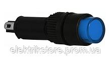 Сигнальная арматура AD22E-8DS синяя 24V АC/DC