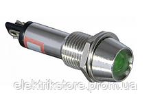 Сигнальна арматура AD22C-9 зелена 220В AC