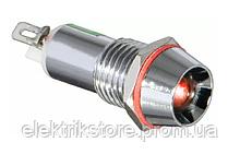 Сигнальна арматура AD22C-14 червона 24V AC/DC