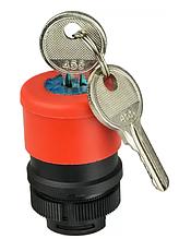 XB2-ES74 Аварійна кнопка з ключем (голова) d30mm