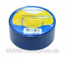 Стрічка ізоляційна 0,13 мм*19мм/5м синя