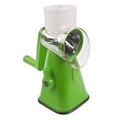 Мультислайсер для овощей и фруктов терка механическая Kitchen Master 5139 5287 Green