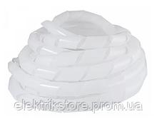 SWB-19 Спираль бело-прозрачная (10м)