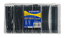 Набір термозбіжних трубок HST-100B (чорні)