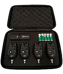 Набор сигнализаторов поклевки с пейджером 4+1 SF23916