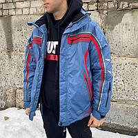 Термокуртка парка зимняя теплая мужская SNOW HEADQUARTER