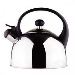 Чайник со свистком из нержавеющей стали Stenson МH-2059 1,6л металлик