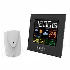 Часы-метеостанция портативные Camry CR 1166, черный