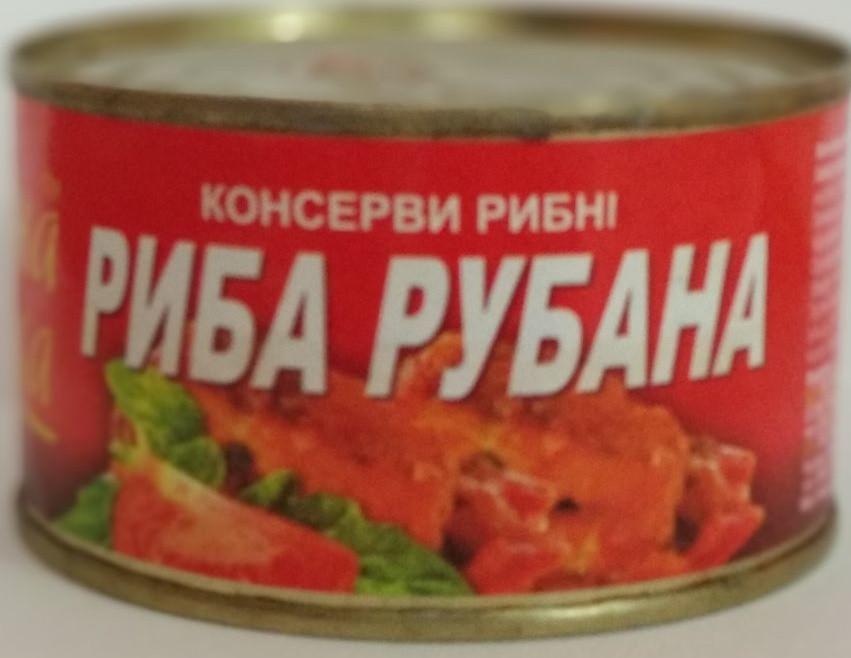 Рыба рубленная ТМ Знатная рыбка 240 грамм