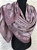 Женский розово-сиреневый платок с люрексом Турция, фото 1