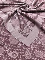 Женский розово-сиреневый платок с люрексом Турция - купить на Kosinka.net
