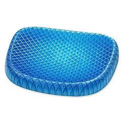 Подушка ортопедическая гелевая Egg Sitter 6724, синий