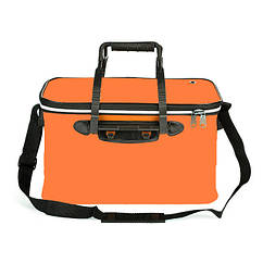 Сумка ящик для рыбалки водонепроницаемая с карманом MHZ 45х27х25см SF23835