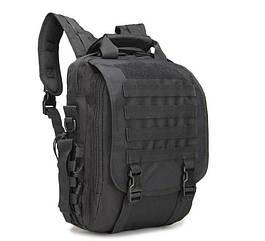 Сумка-рюкзак тактическая TacticBag A28, 30 л – черная