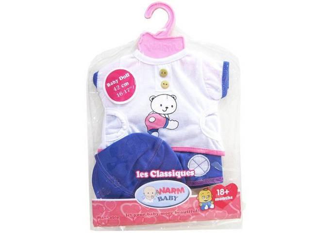 Набор одежды для кукол Baby Born и аналогов, DBJ-442
