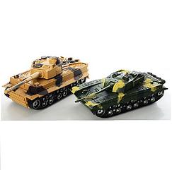 Танковый бой танки на радиоуправлении Спартак 369-23