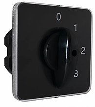 Переключатель пакетный типа ПКП Е9 50А / 2.841 (0-1-2-3 выбор фазы)