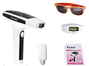 Лазерный эпилятор Kemei KM-6812 Белый