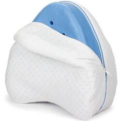 Ортопедическая подушка для ног Contour Leg Pillow, треугольная, с чехлом