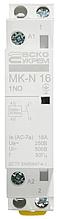 Модульний контактор MK-N 1P 16A 1NO 220V